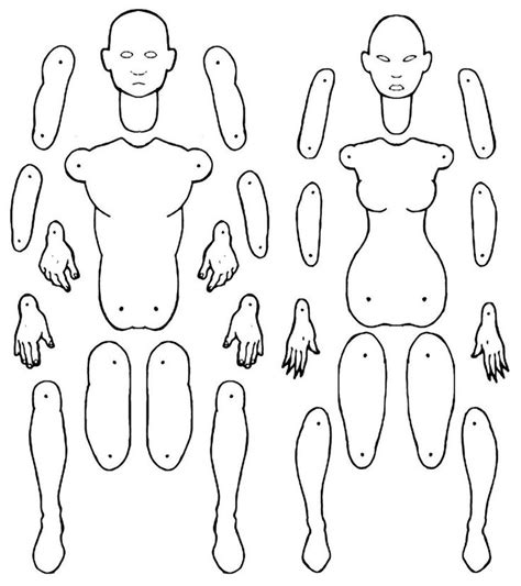 Paper Doll Template Top 25 Best Paper Doll Template Ideas On