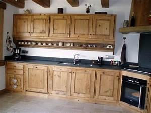 gatto charpente chalets et menuiserie en haute savoie 74 With cuisine en vieux bois
