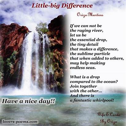 Morning Inspirational Quotes Messages Difference Poems Poetry