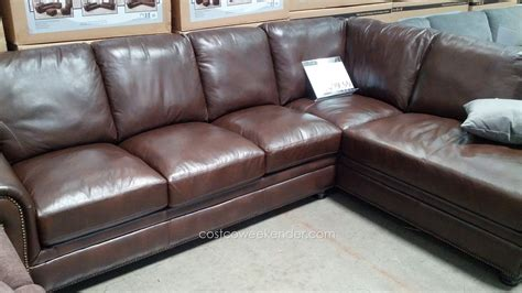 costco leather sofa in store costco leather sectional sofa sofa beds design latest
