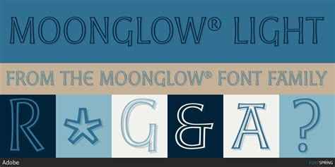 Moonglow® Fonts By Adobe