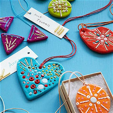 oven bake clay treasured christmas ornaments how to