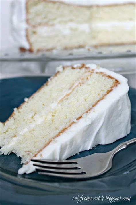 how to make a vanilla cake from scratch only from scratch simple layer cake with vanilla frosting from martha stewart cake recipes
