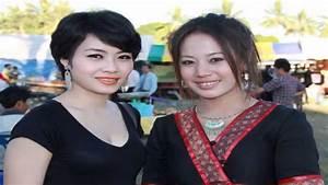 Beautiful Hmong Girls @52 Laos - YouTube
