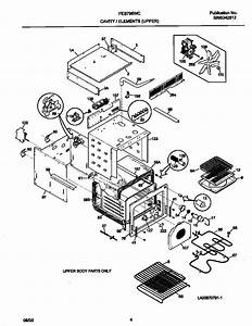 Frigidaire Feb798wcce Electric Wall Oven Parts
