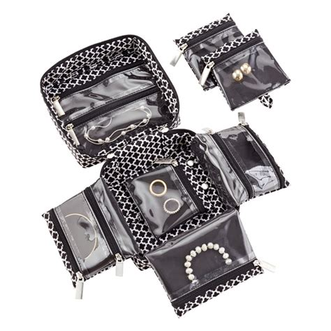 in.bag Black Moroccan Travel Jewelry Organizer