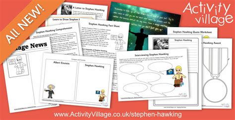 stephen hawking biography worksheet new stephen hawking biography worksheets and printables