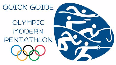 Quick Guide to Olympic Modern Pentathlon - YouTube