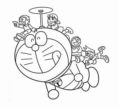 Mewarnai Gambar Doraemon Anak Tk Dan Banyak