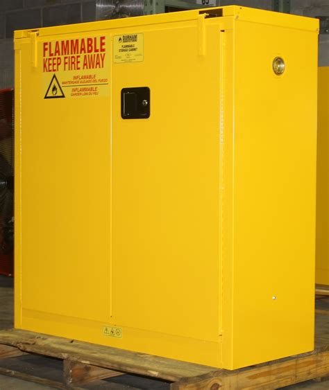 flammable safety cabinets used 30 gallons flammable safety storage cabinet new never