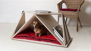 nidin coffee table and dog den from fabbricabois dog milk With dog den furniture
