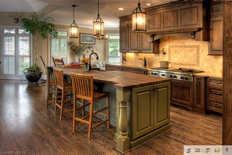 country kitchen with island country kitchen design