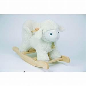 Animal Bascule Bebe : jouets des bois mouton bascule pour b b histoire d 39 ours jouets des bois ~ Teatrodelosmanantiales.com Idées de Décoration