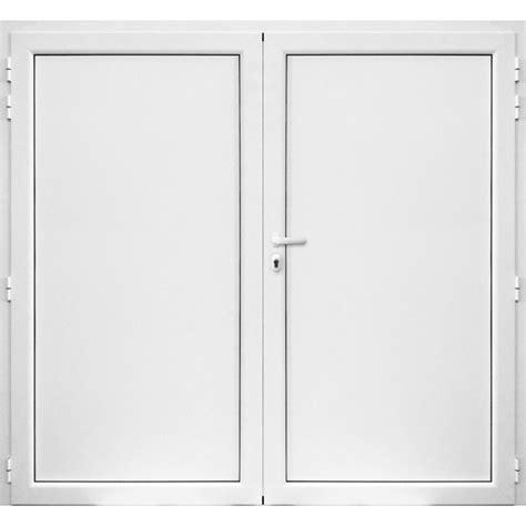 porte de garage aluminium  battant  vantaux blanc