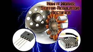 How A Motorcycle Works Ep  1  The Stator  Regulator  And
