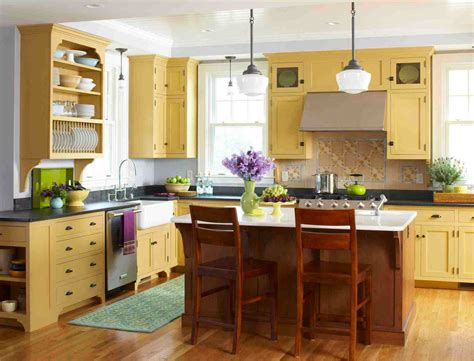 Cozy Kitchen Warm Colors by Style Archive Mellow Yellow Kitchen Kitchen Do