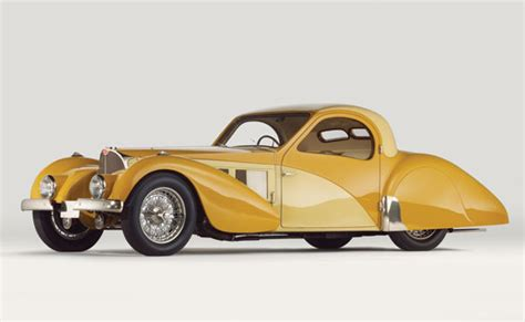 1937 Bugatti Type 57sc Atalante Coupe Goes Under The