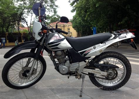 Discontinued Honda Sl230 Enduro 223cc  Hanoi Motorbike Rental