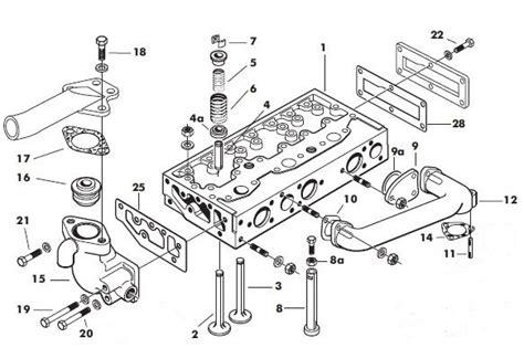 Perkin Fuel Injector Diagram by Massey Ferguson 35x Cylinder