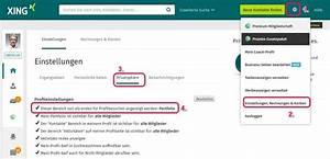 Was Kann Google Home : xing portfolio richtig einstellen der social media berater ~ Frokenaadalensverden.com Haus und Dekorationen