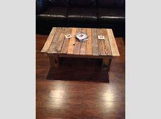 DIY Simple Wood Pallet Coffee Table – 101 Pallets