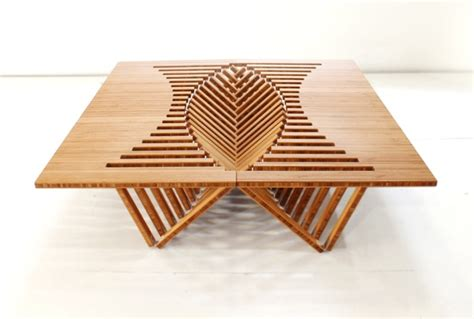 rising table rising table by robert van embricqs crnchy