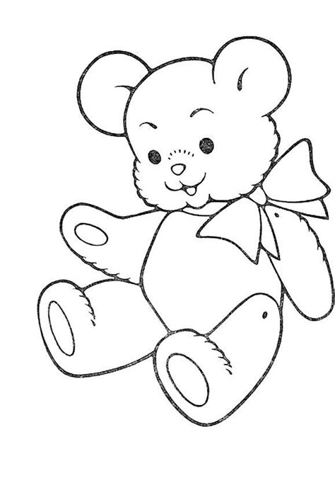 pin  ginanjar  coloring pages teddy bear coloring
