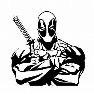 Deadpool Die Cut Vinyl Decal PV2102