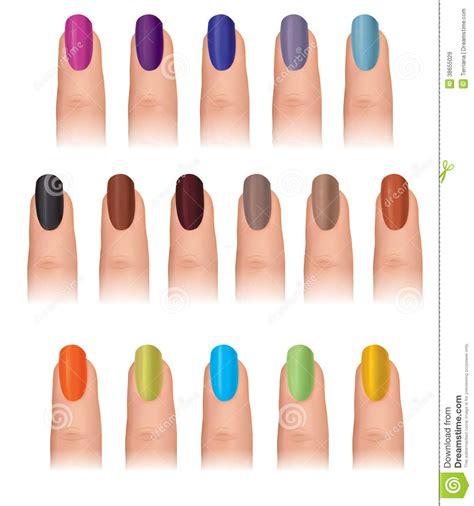 fingernail colors fingernail coloured set funky nail collect royalty