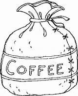 Coffee Coloring Pages West Bag Printable Pot Cup Getcoloringpages Places Getdrawings sketch template