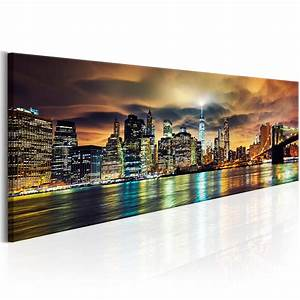 New York Leinwand : leinwand bilder xxl fertig aufgespannt bild new york stadt nacht d b 0085 b b ebay ~ Markanthonyermac.com Haus und Dekorationen