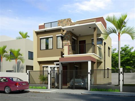Simple Filipino 2 Storey House Design Exterior Home Painter Apartment Dining Room Ideas White Bedroom Bathroom Tiles Designs Unique Sets Interior And Depot Maple Cabinets All Glass Display