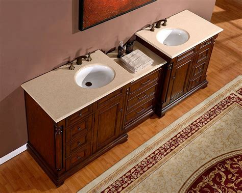 sink on top of counter 92 5 inch marble counter top modular sink cabinet bathroom