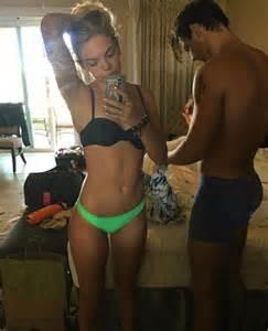 grace johnston bikini louisa johnson flashes her incredibly taut abs in bikini