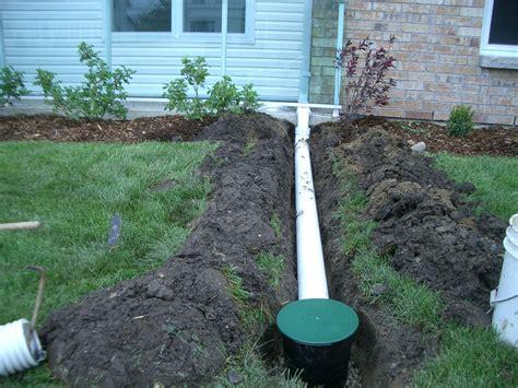 landscape drain landscape drainage homeownerbob s blog