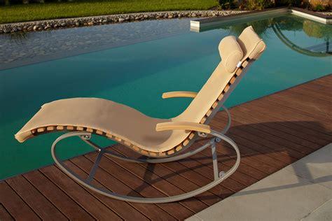 Sonnenliege Holz Mit Auflage. Gartenliege Extra Hoch