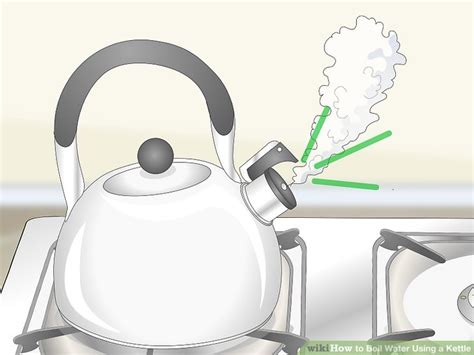 kettle water boil using boiling fire ways easy steps stove warning