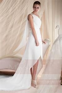 Robe Pour Temoin De Mariage : robe de mariage civil pour mariage plage et jardin ref ~ Melissatoandfro.com Idées de Décoration