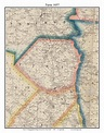 Turin, New York 1857 Old Town Map Custom Print with ...