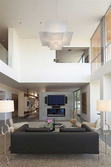 high bedroom decorating ideas minimalist living room with high ceiling design ideas