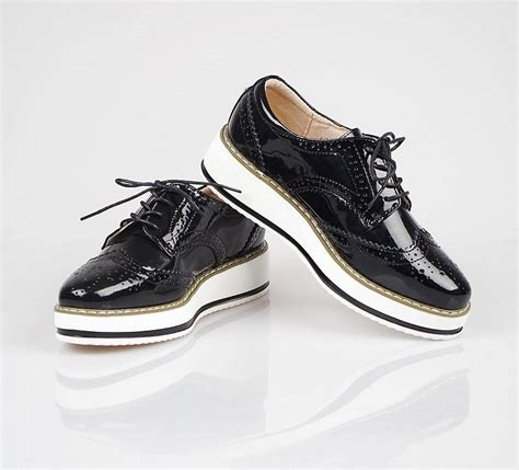 ygf genuine leather flats platform shoes women classic