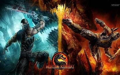 Kombat Mortal Backgrounds Desktop Wallpapertag