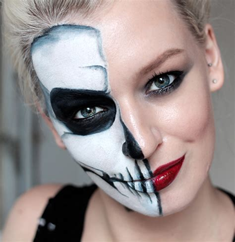 Skeleton Makeup Simple - Mugeek Vidalondon