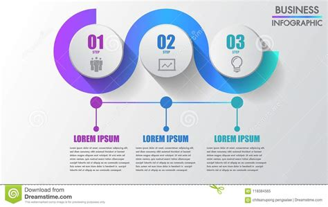 steps business infographics modern creative step