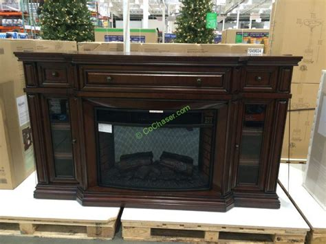 electric fireplace costco ember hearth 72 electric media fireplace costcochaser