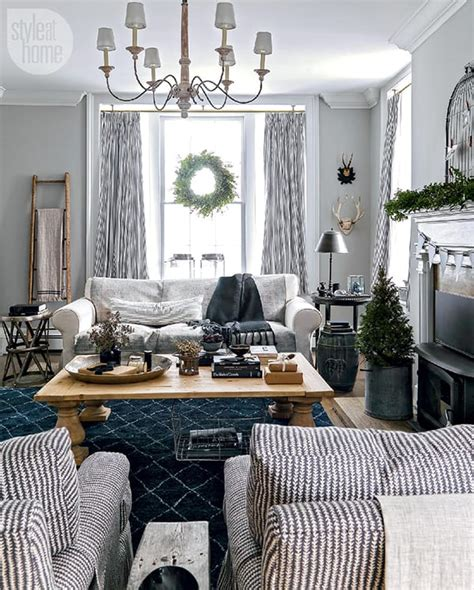 rustic nordic holiday style home  georgian bay