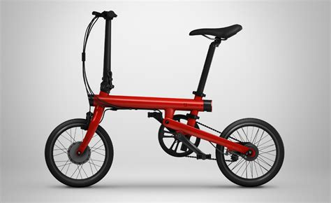 xiaomi e bike xiaomi qicycle electric folding bike announced