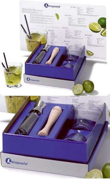 coffret set de bar 224 caipirinha mojito leopold 00779 717 detacabaco decoration table