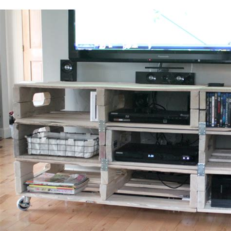 pallet entertainment center the forge diy entertainment center from pallets Diy