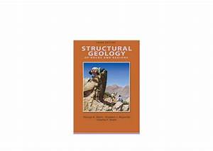 Audiobooks   Library Structural Geology Of Rocks And